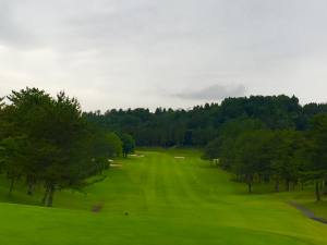 西1H Par4 見た目より難しいんです。/鶴舞cc ゴルフ会員権の千葉ゴルフ会