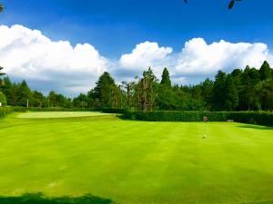 八幡カントリークラブ 練習グリーン綺麗でした。/ ゴルフ会員権の千葉ゴルフ会