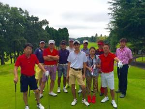 南総ccクラブチャンピオンの御祝い 千葉国際ccにて / ゴルフ会員権の千葉ゴルフ会