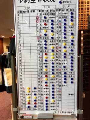 予約状況 / ゴルフ会員権の千葉ゴルフ会